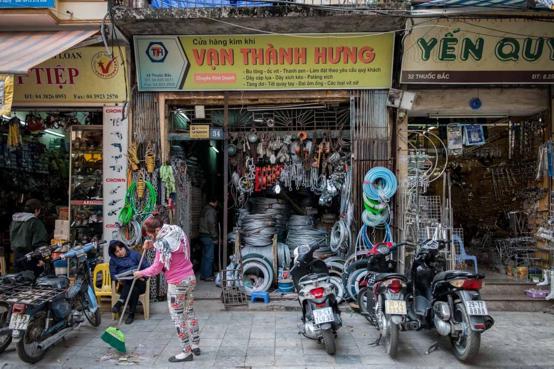 VIETNAM – Hanoi et le quartier des 36 Guildes