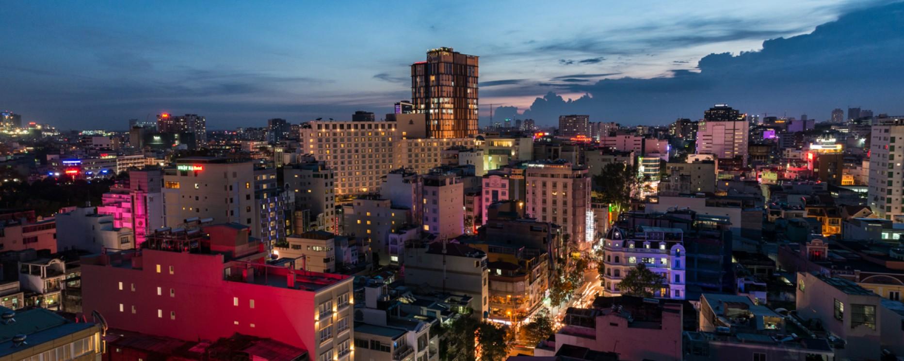 VIETNAM – Hô-Chi-Minh vue d'en haut