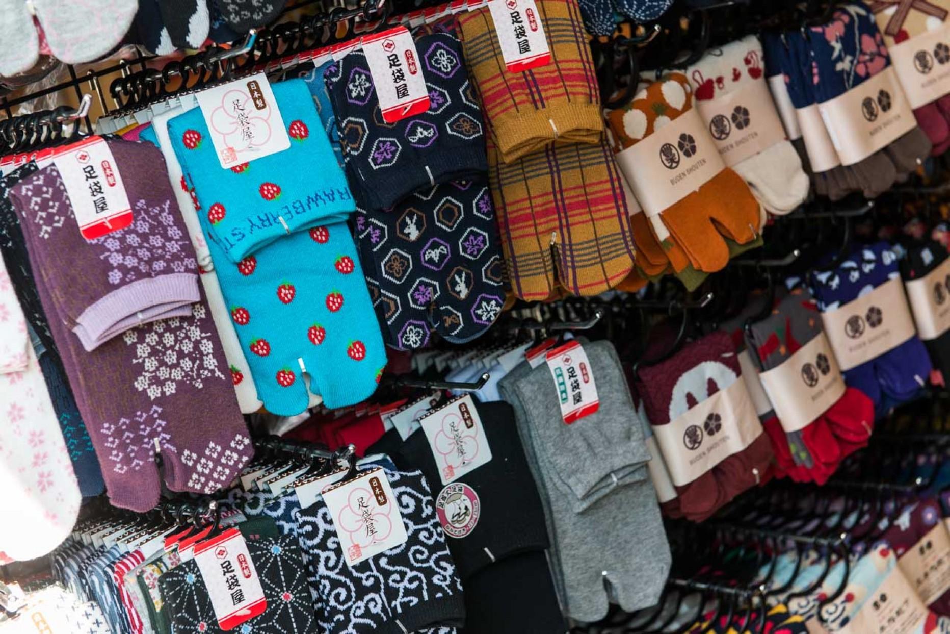 Les chaussettes asiatiques