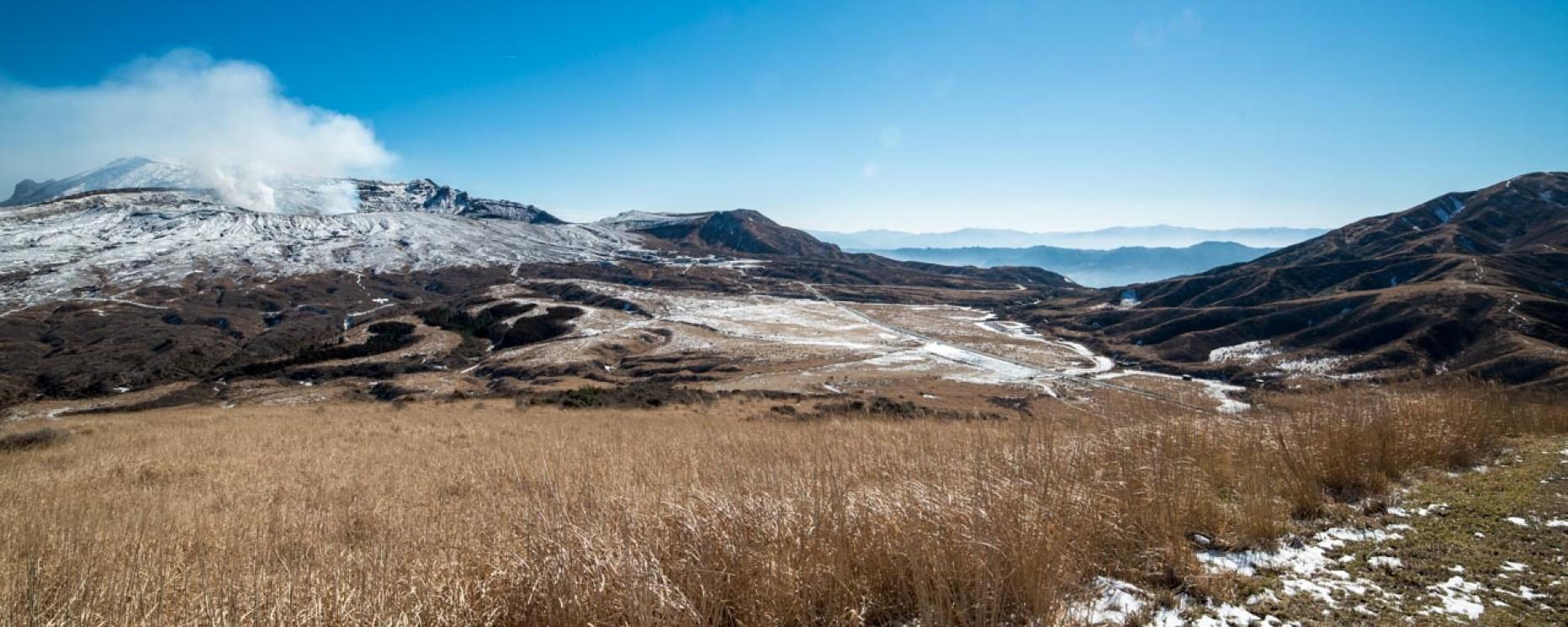JAPON – Kumamoto et l'ascension du Mont Aso